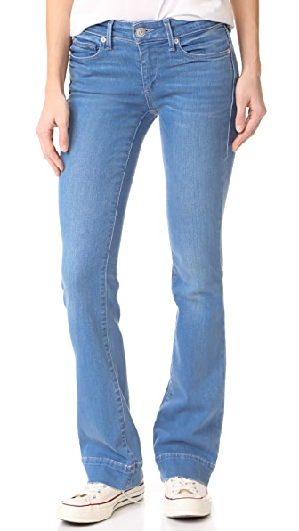 Becca Mid Rise Boot Cut Jeans