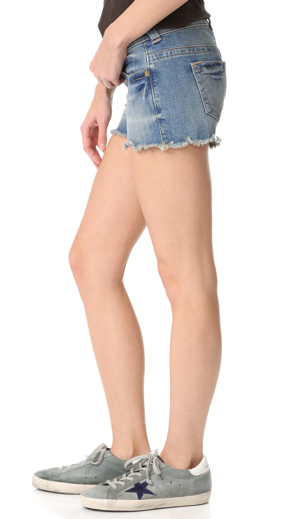 eb4c957bd True Religion Keira Low Rise Shorts