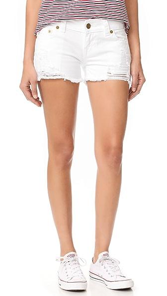 True Religion Keira Low Rise Cutoff Shorts