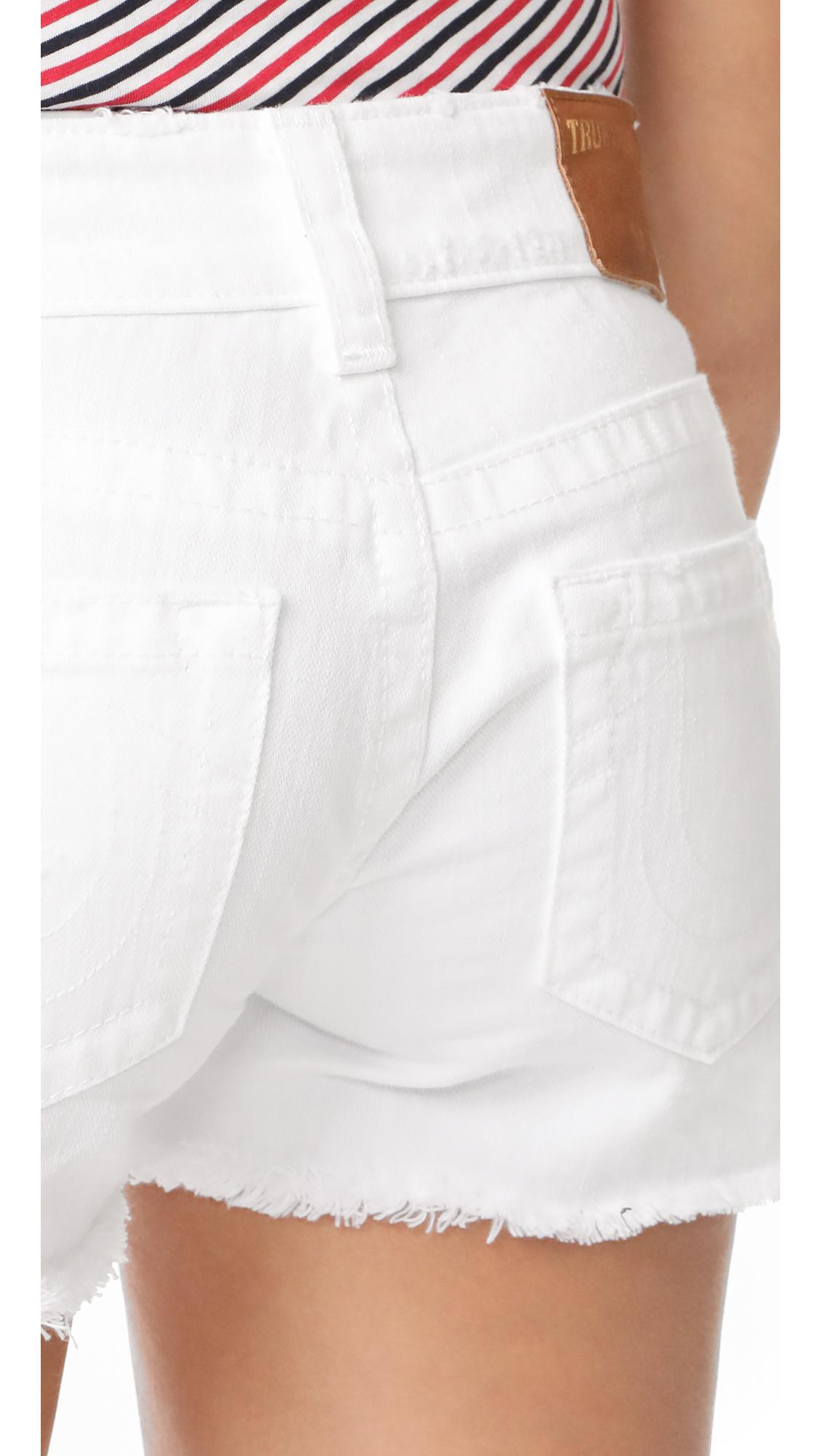 adba8a6ff True Religion Keira Low Rise Cutoff Shorts
