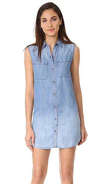 True Religion Utility Dress - Indigo