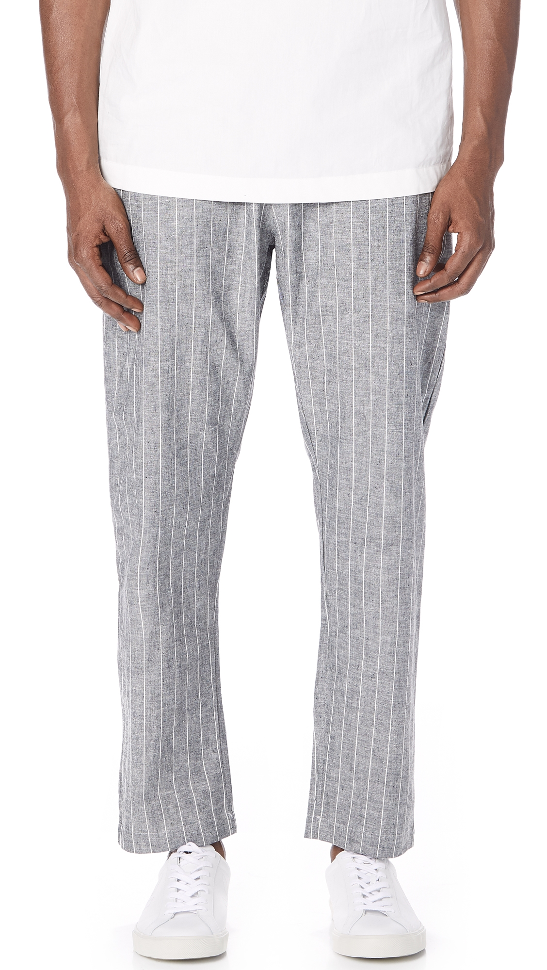 THE SILTED COMPANY THE COFFIN STRIPED TROUSERS