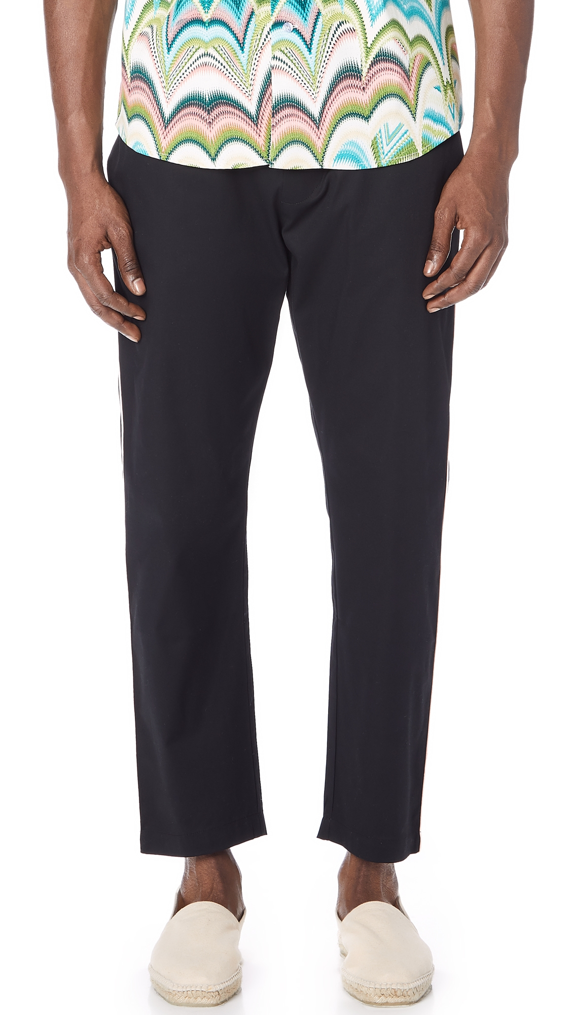 THE SILTED COMPANY THE COFFIN SIDE STRIPED TROUSERS