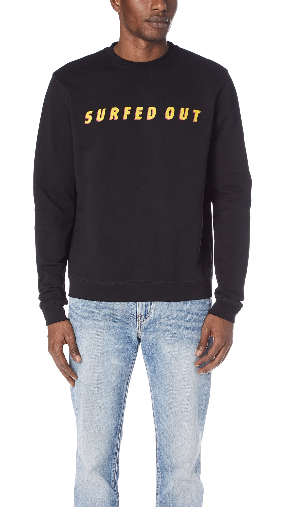 THE SILTED COMPANY SURFED OUT SWEATSHIRT