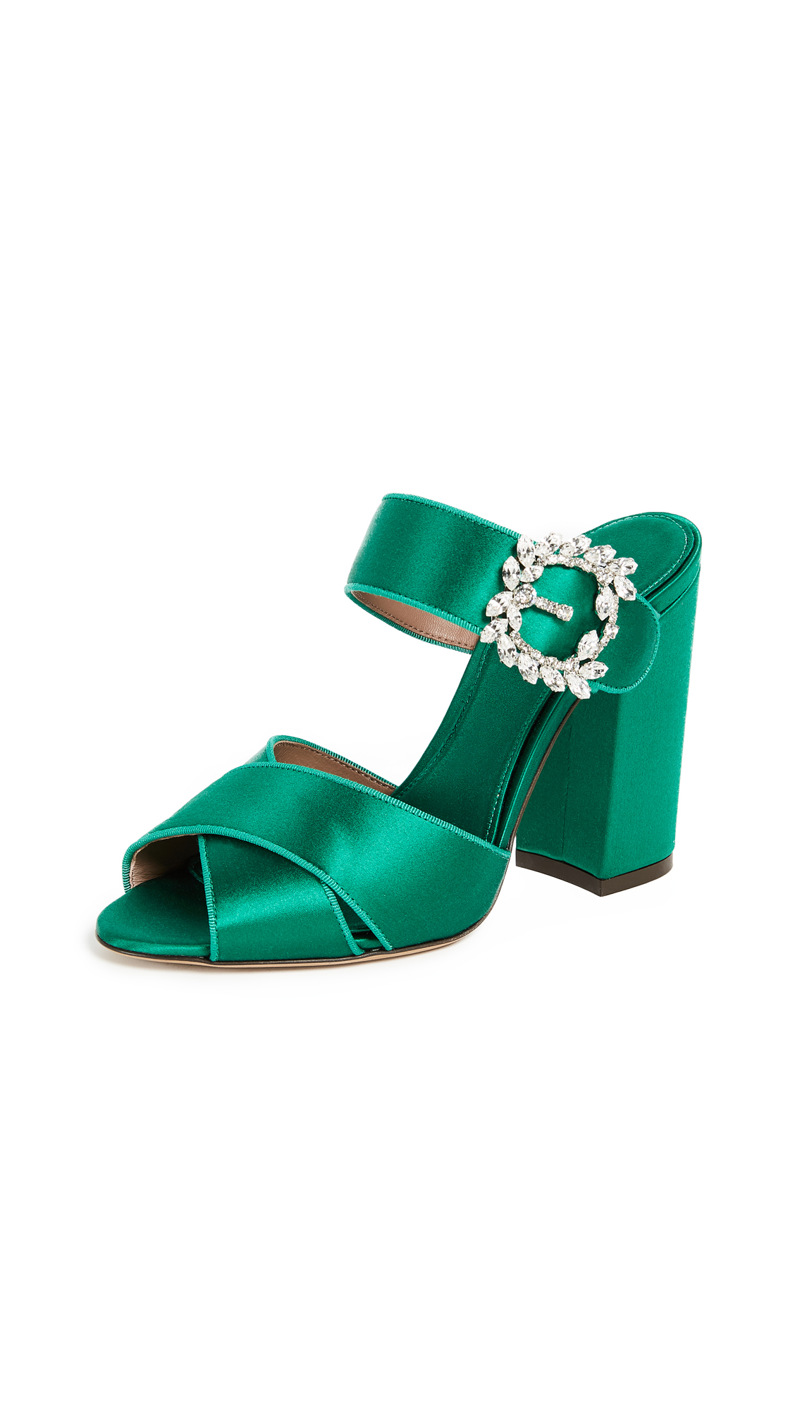 Tabitha Simmons Reyner Pumps - Emerald