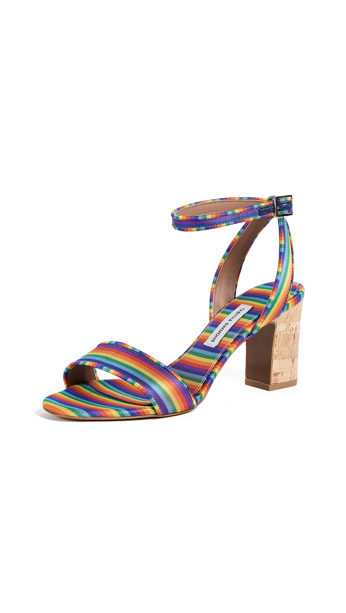 Tabitha Simmons Rainbow Sandal Pumps - Rainbow