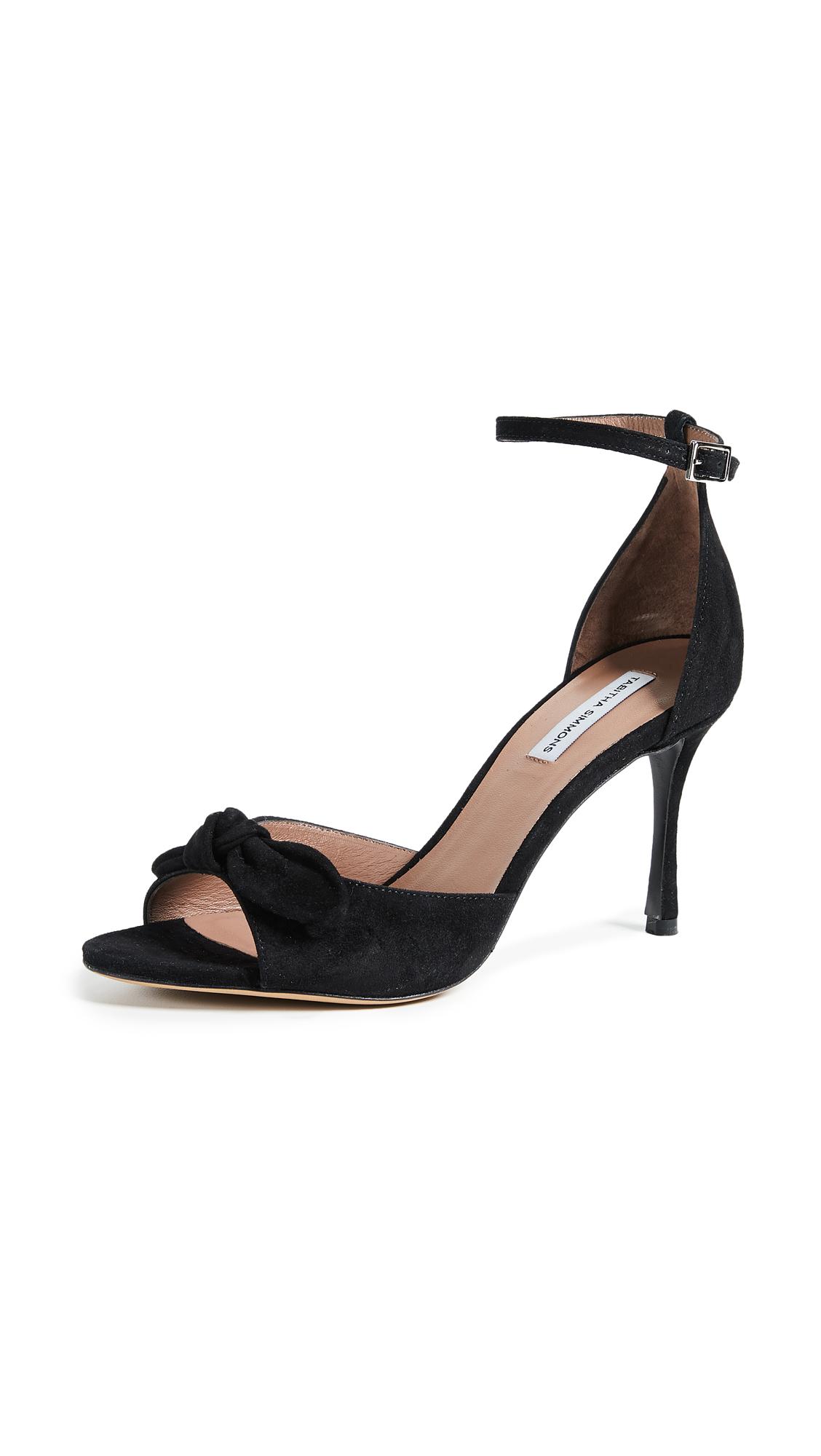 Tabitha Simmons Mimmi Ankle Strap Pumps - Black