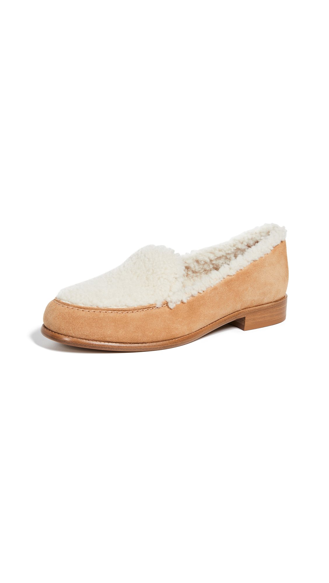 Tabitha Simmons Blakie Shearling Loafers - Shearling