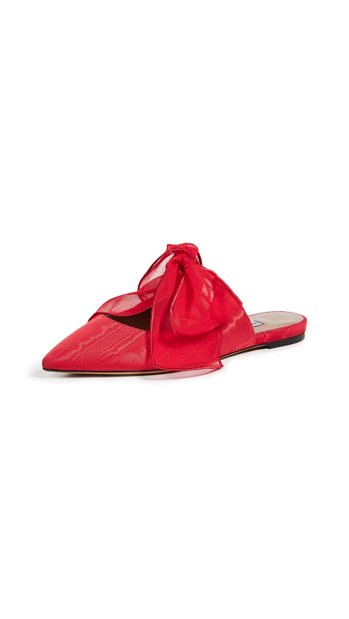 Tabitha Simmons Aida Mules - Red