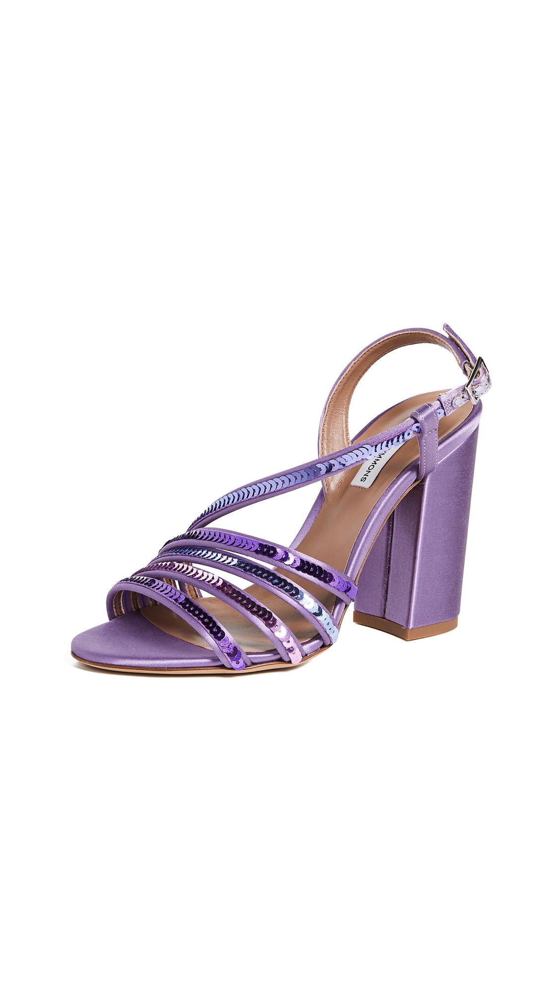 Tabitha Simmons Viola Sandals - Lavender