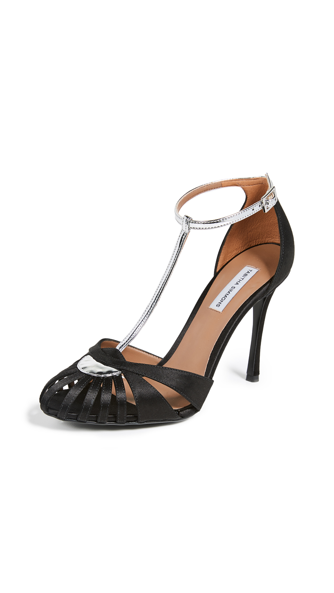 Tabitha Simmons Chelsea Pumps - Black/Silver