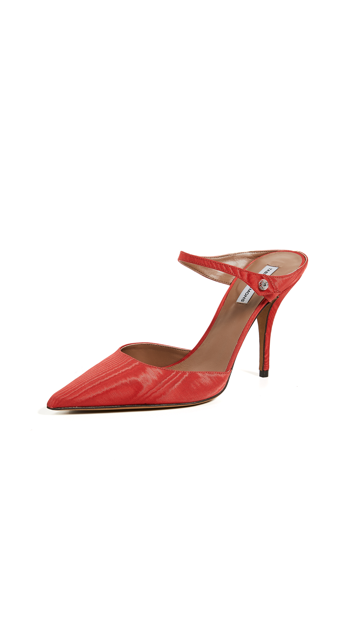Tabitha Simmons Allie Mules - Red