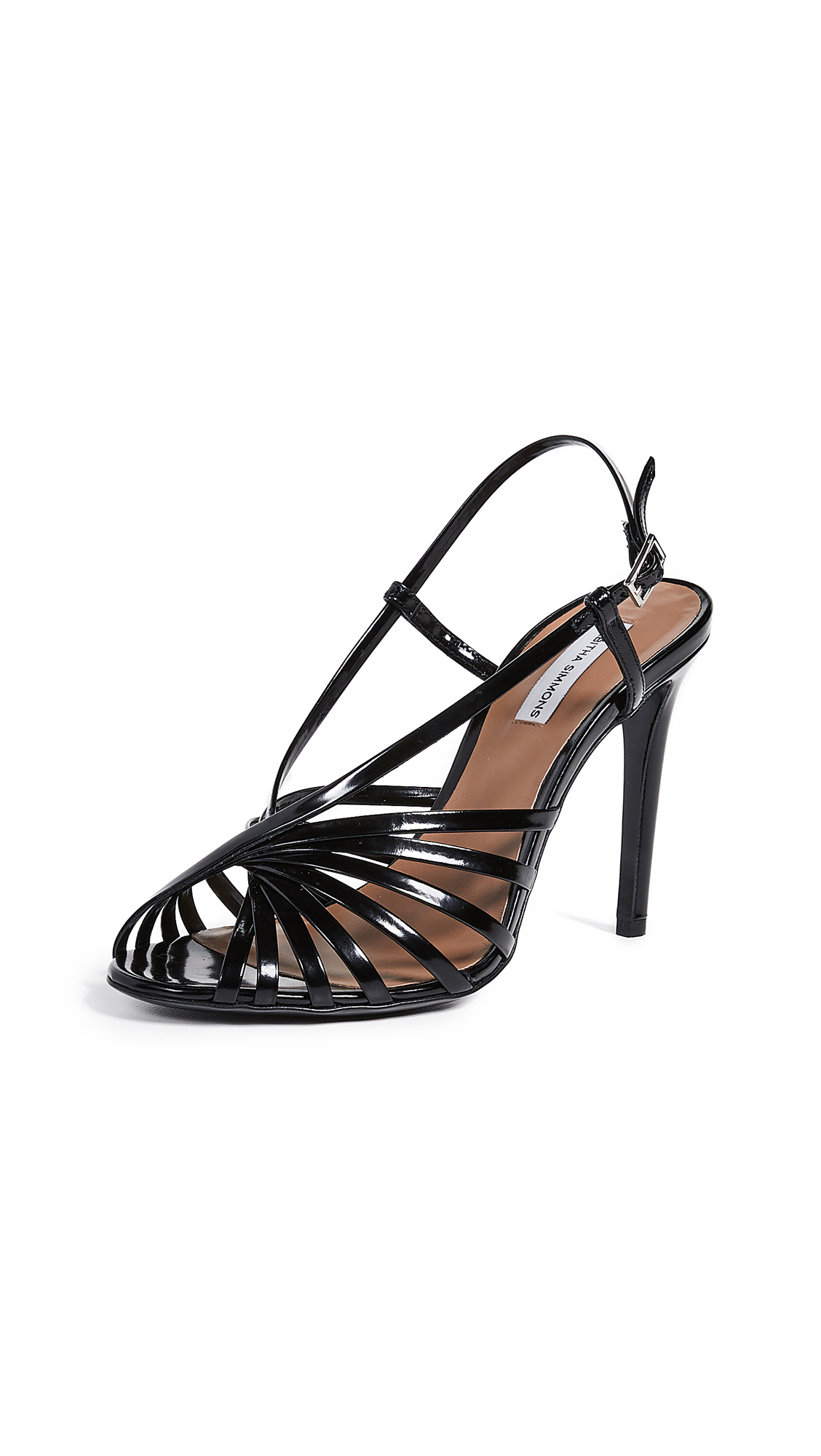 Tabitha Simmons Jazz Sandals - Black