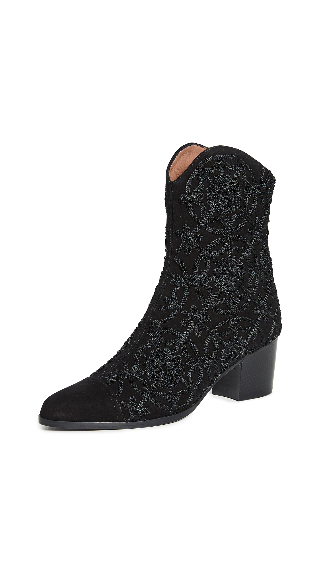 Buy Tabitha Simmons online - photo of Tabitha Simmons Wyatt Medallion Boots