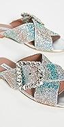 Tabitha Simmons Leni 水晶凉拖鞋