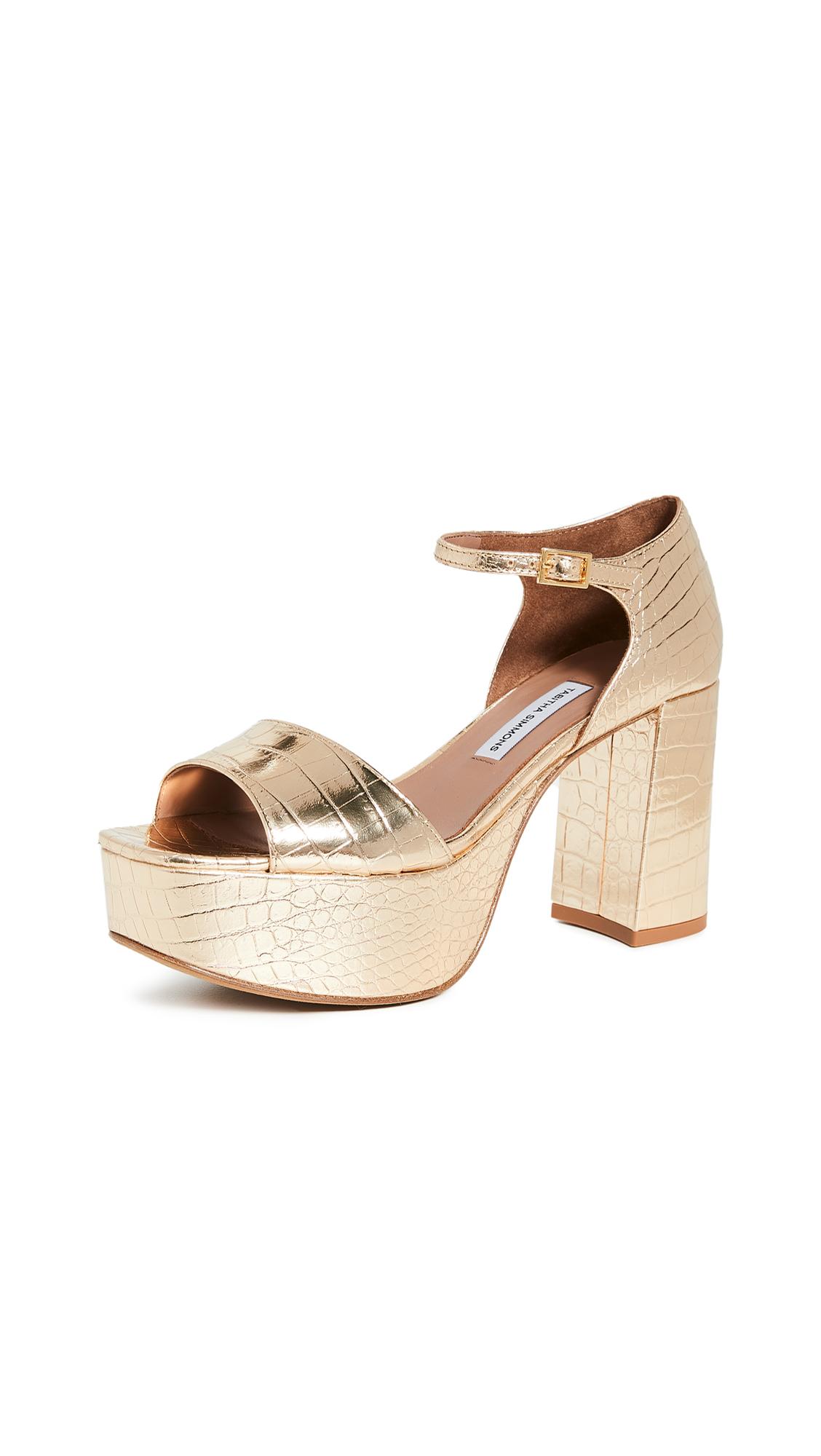 Buy Tabitha Simmons online - photo of Tabitha Simmons Patton Platform Sandals
