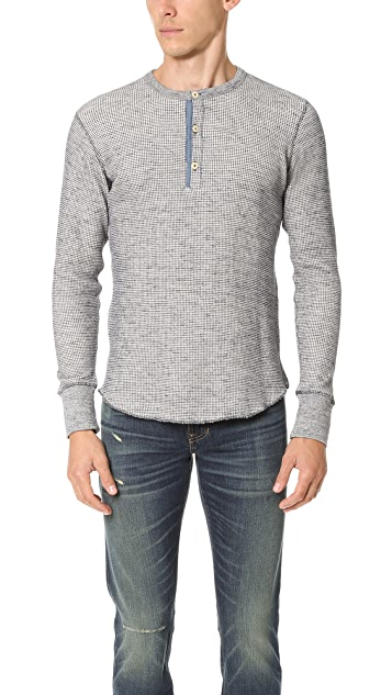 Todd Snyder Thermal Henley