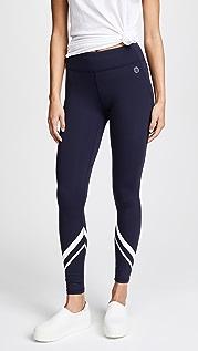Tory Sport V 形全长贴腿裤