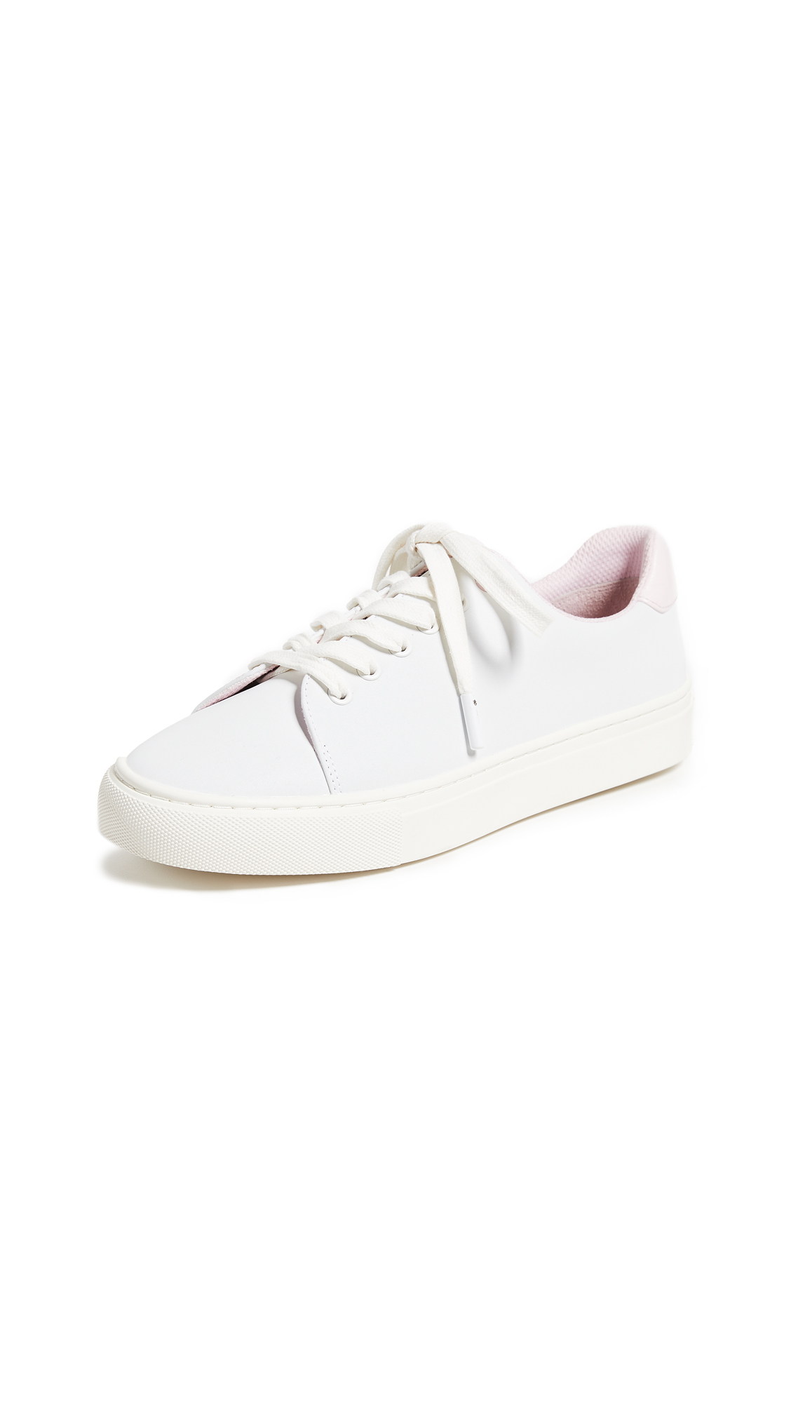 Tory Sport Reflective Sneakers - White/Cotton Pink