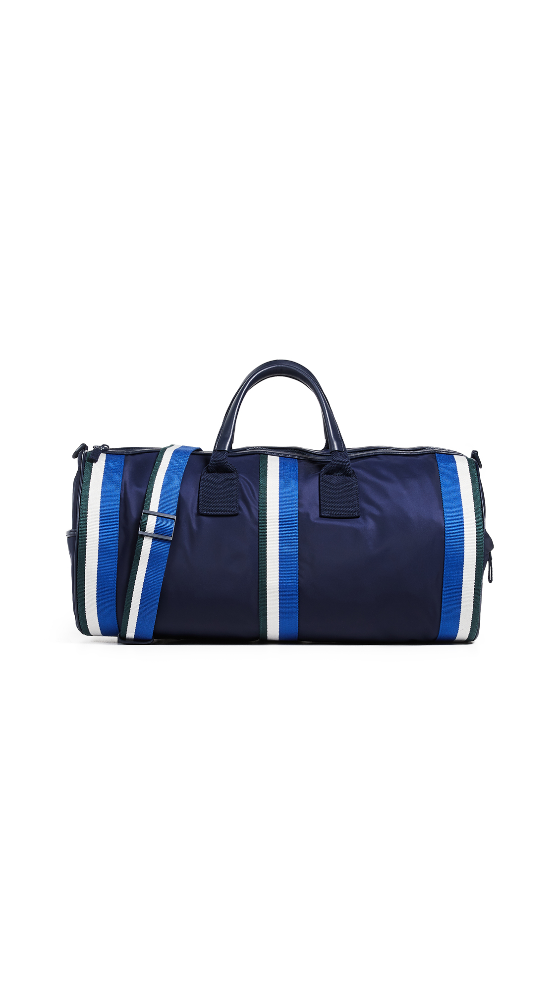 Tory Sport Retro Striped Weekender Duffel Bag - Tory Navy