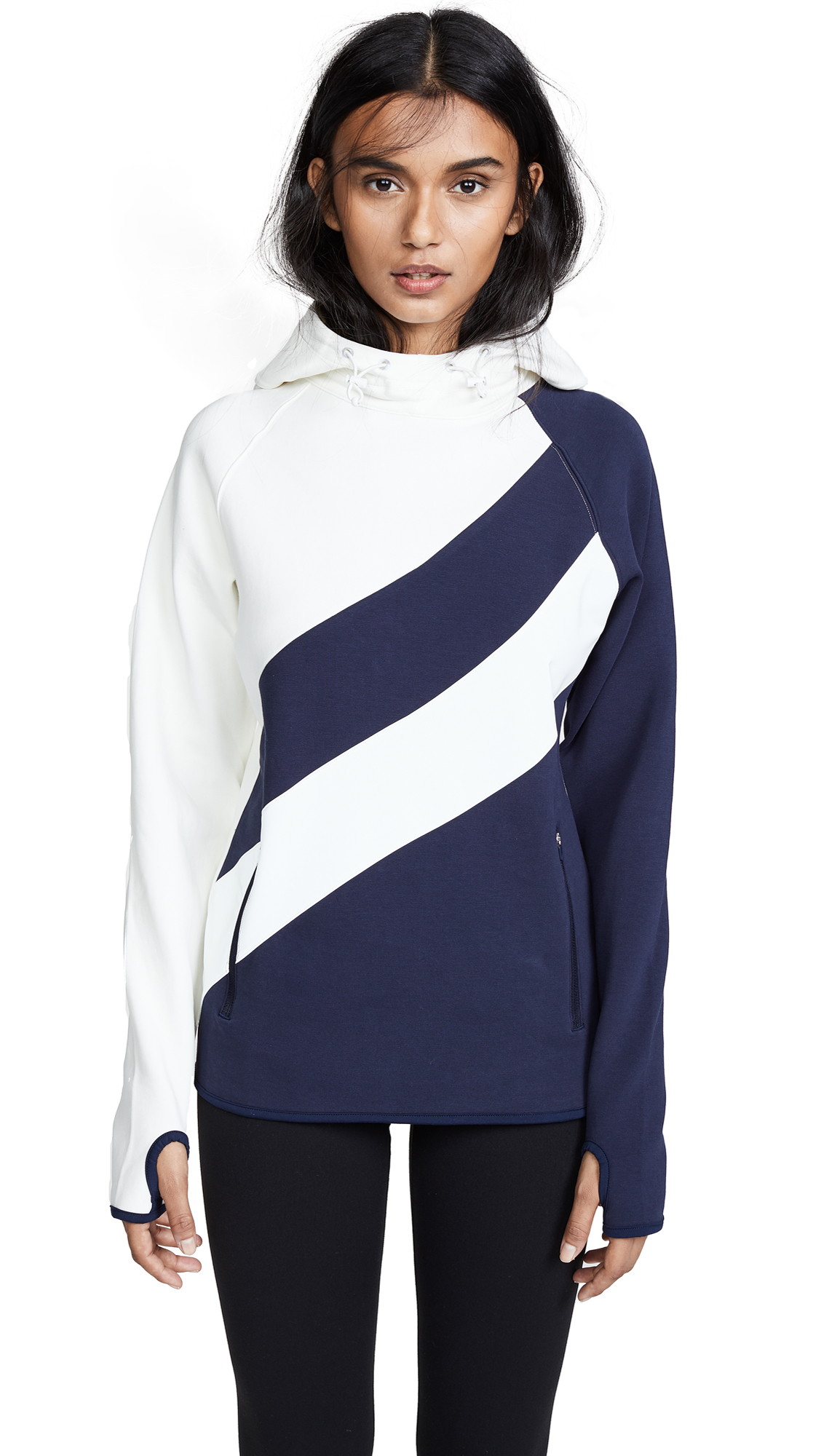 Tory Sport Reflective Performance Hoodie - Tory Navy