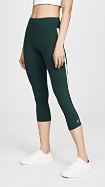 ad1c74f54a1cde Tory Sport. Reflective Cropped Leggings