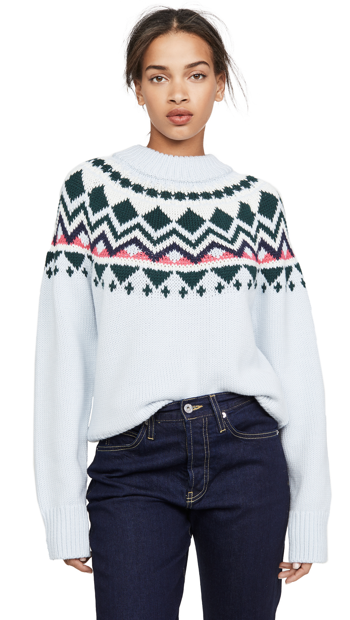 Buy Tory Sport online - photo of Tory Sport Performance Merino Fair Isle Sweater
