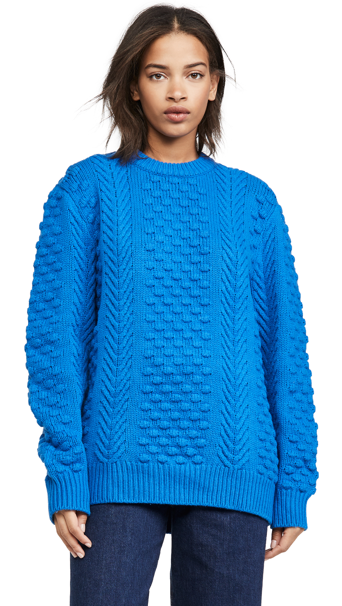 Buy Tory Sport online - photo of Tory Sport Chunky Merino Cable Knit Sweater