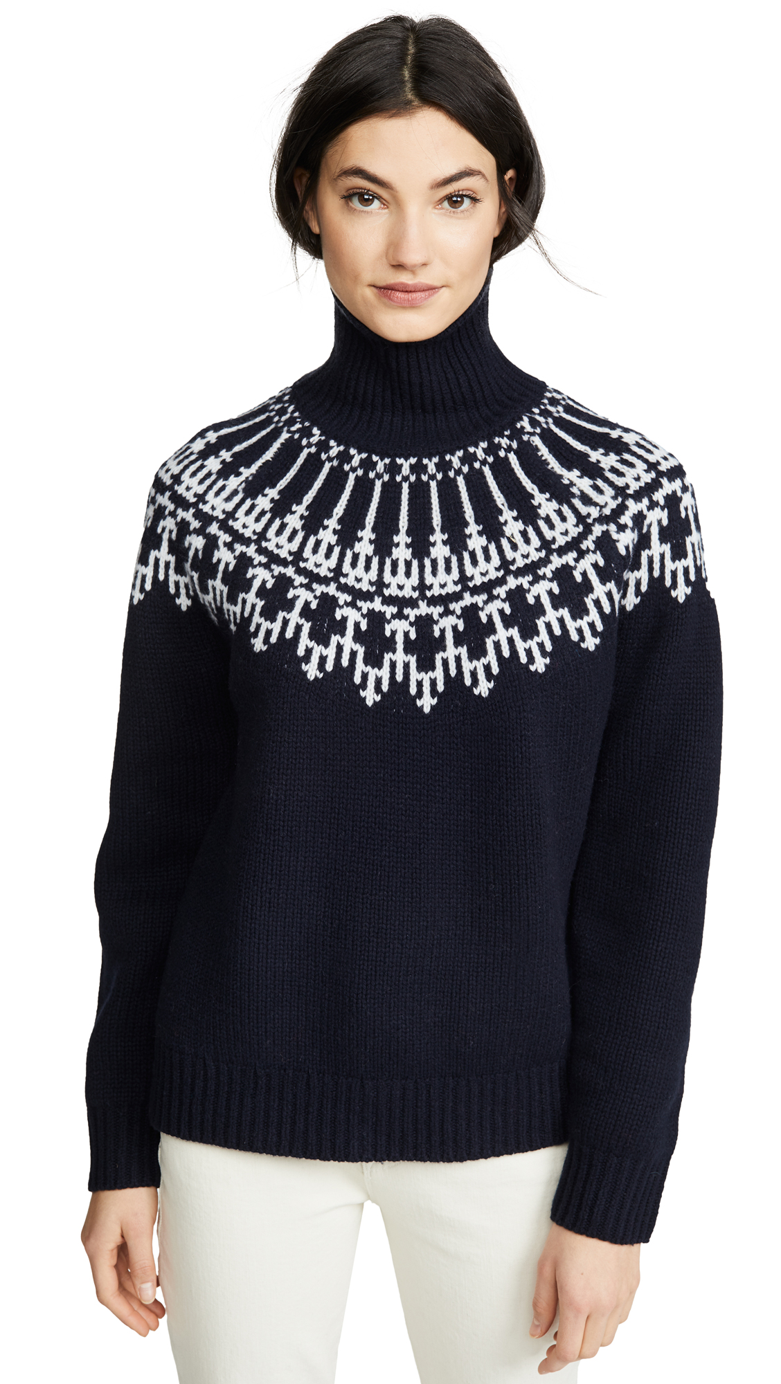 Buy Tory Sport online - photo of Tory Sport Fair Isle Sweater