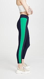 Tory Sport Colorblock 7/8 贴腿裤