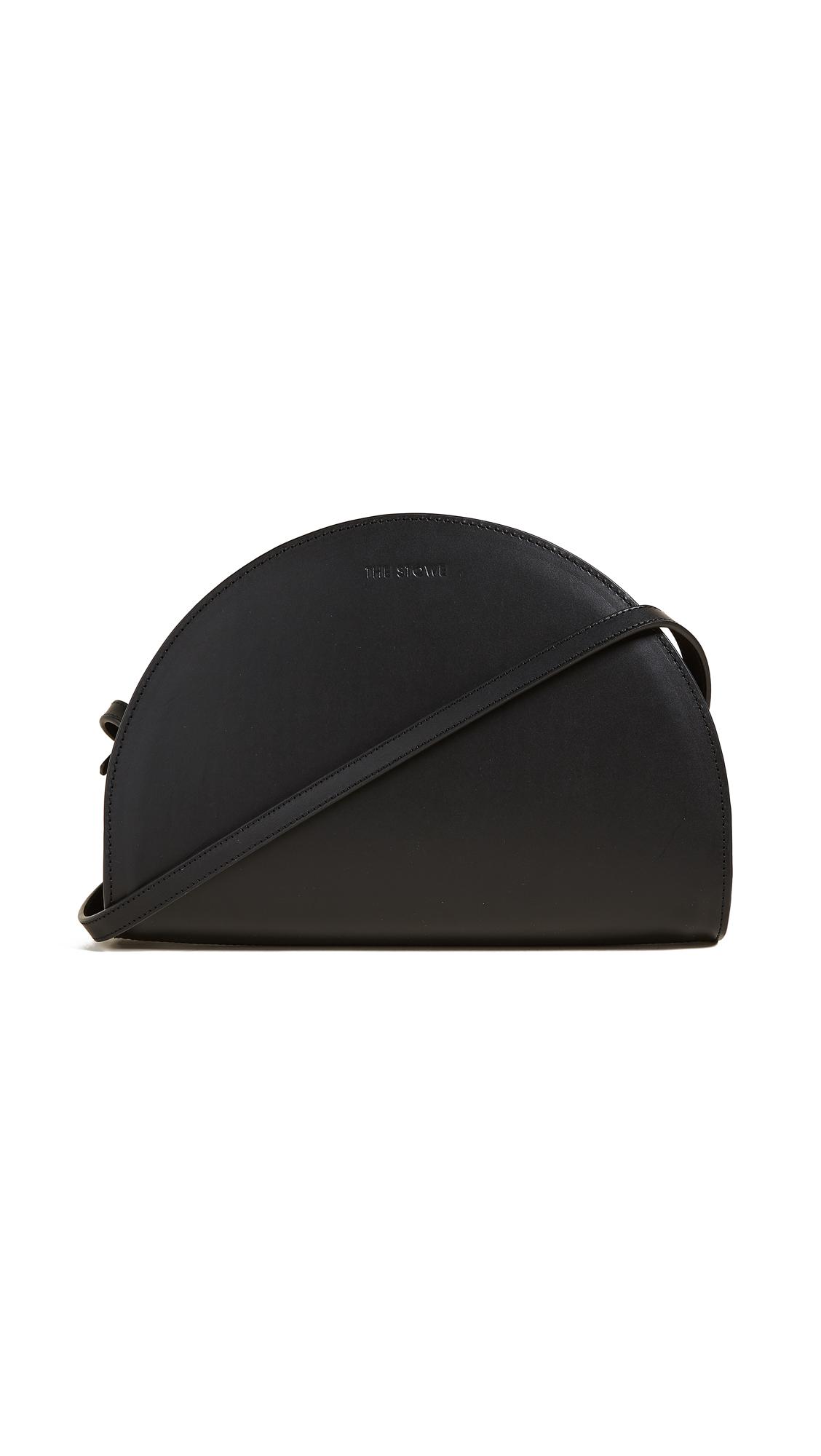 The Stowe Margot Half Moon Bag - Black