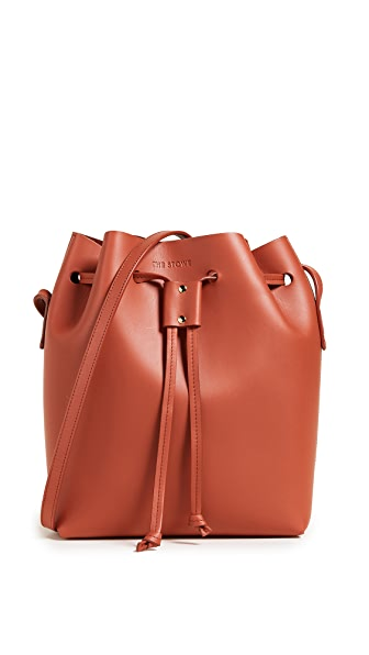 The Stowe Bucket Bag In Paprika