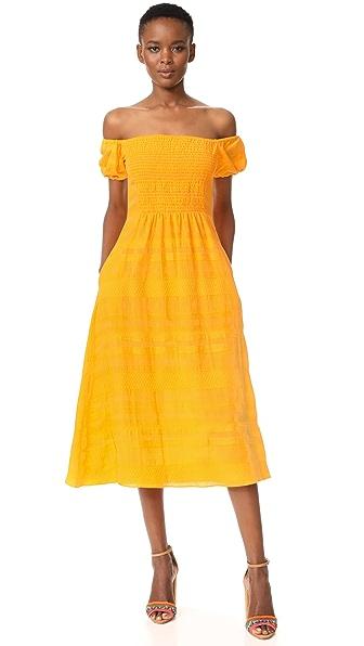 Tanya Taylor Zanna Dress - Marigold