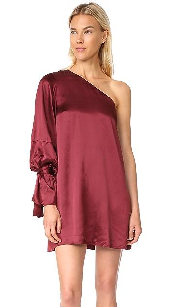 Tanya Taylor Satin Viscose Leah Dress