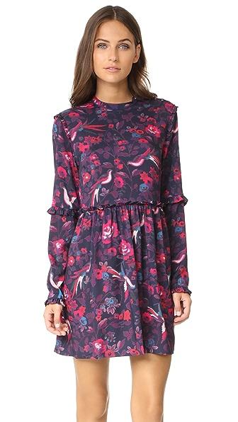 Tanya Taylor Floral Dyllan Dress