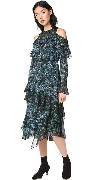 Floral Vines Althea Dress