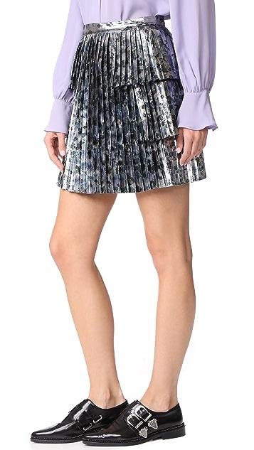 Tanya Taylor Metallic Sidra Skirt