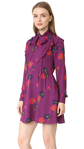 Tanya Taylor Spaced Out Floral Aubree Dress