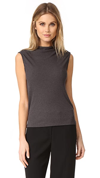 Twenty Tees Mock Neck Top