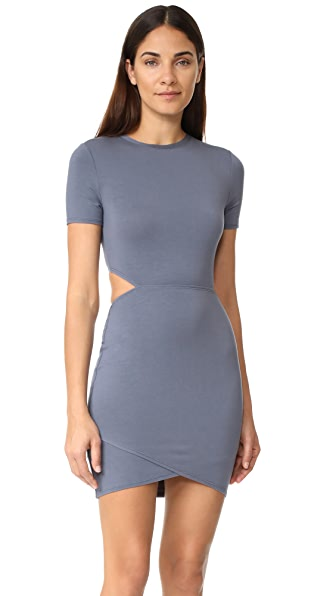 Twenty Tees Cut Out Mini Dress