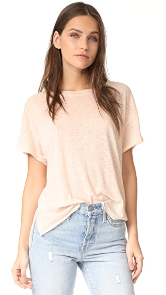 Twenty Tees Short Sleeve Linen Tee