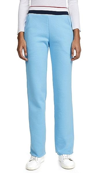 Varsity Ringer Cropped Sweatpants