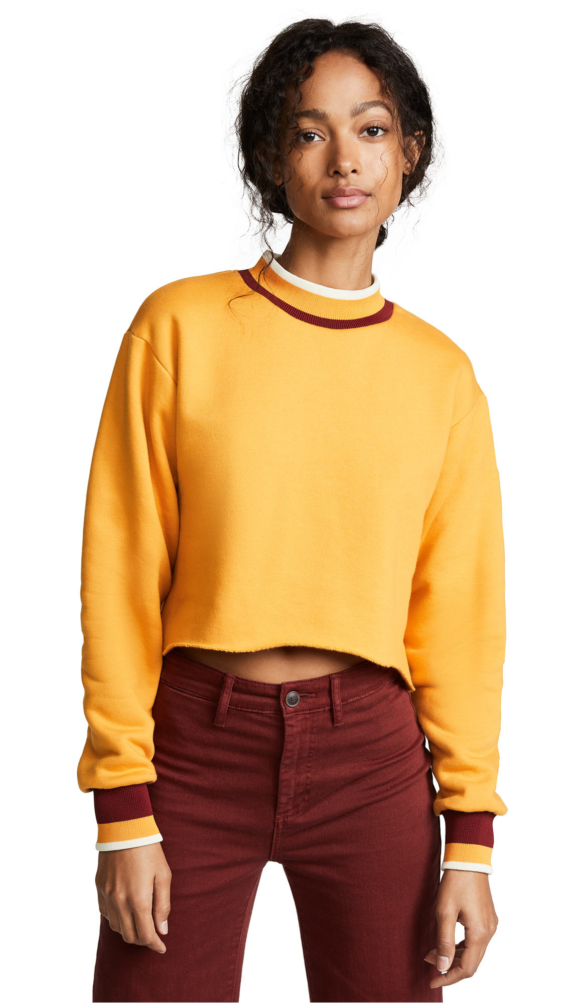 TWENTY MONTREAL Pride Cropped Sweatshirt - Golden Hour