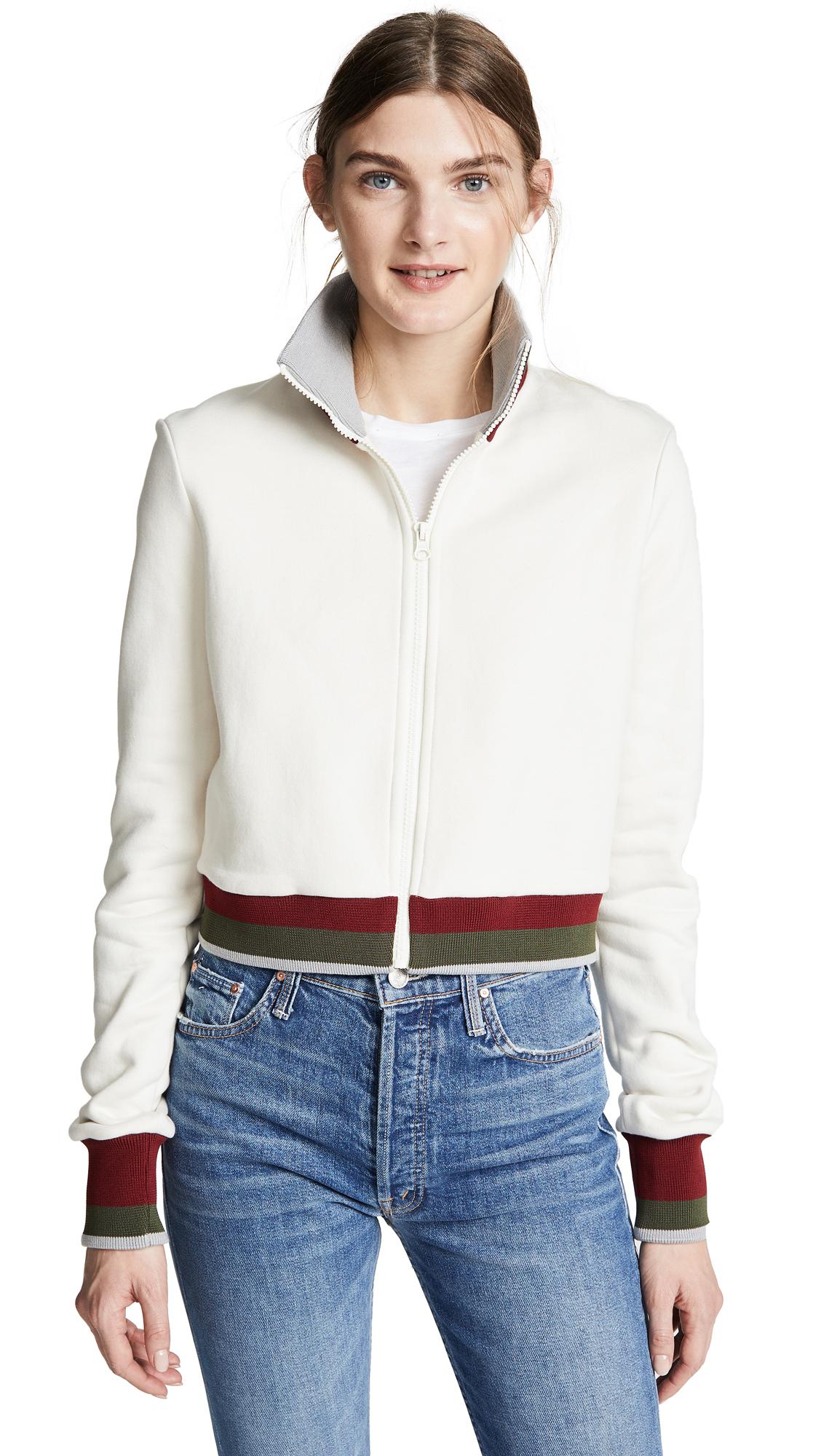 Twenty Tees Pride Super Cropped Zip Up Jacket