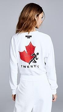 Twenty Tees Sunnyside Reversible Logo Sweatshirt