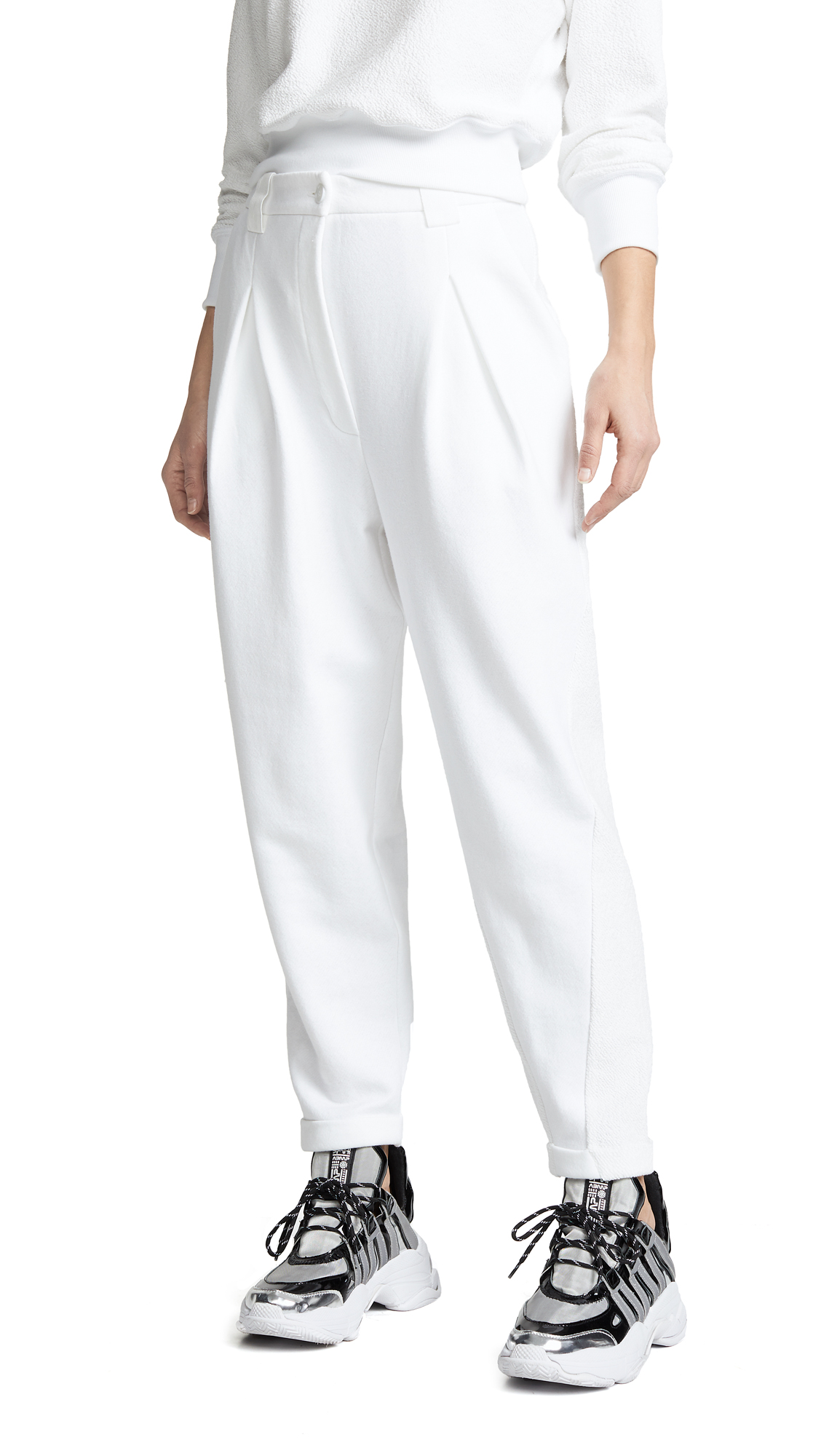 Sunnyside Trouser Sweatpants in Ivory