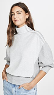 TWENTY MONTREAL Sunny Side Mock Neck Pullover
