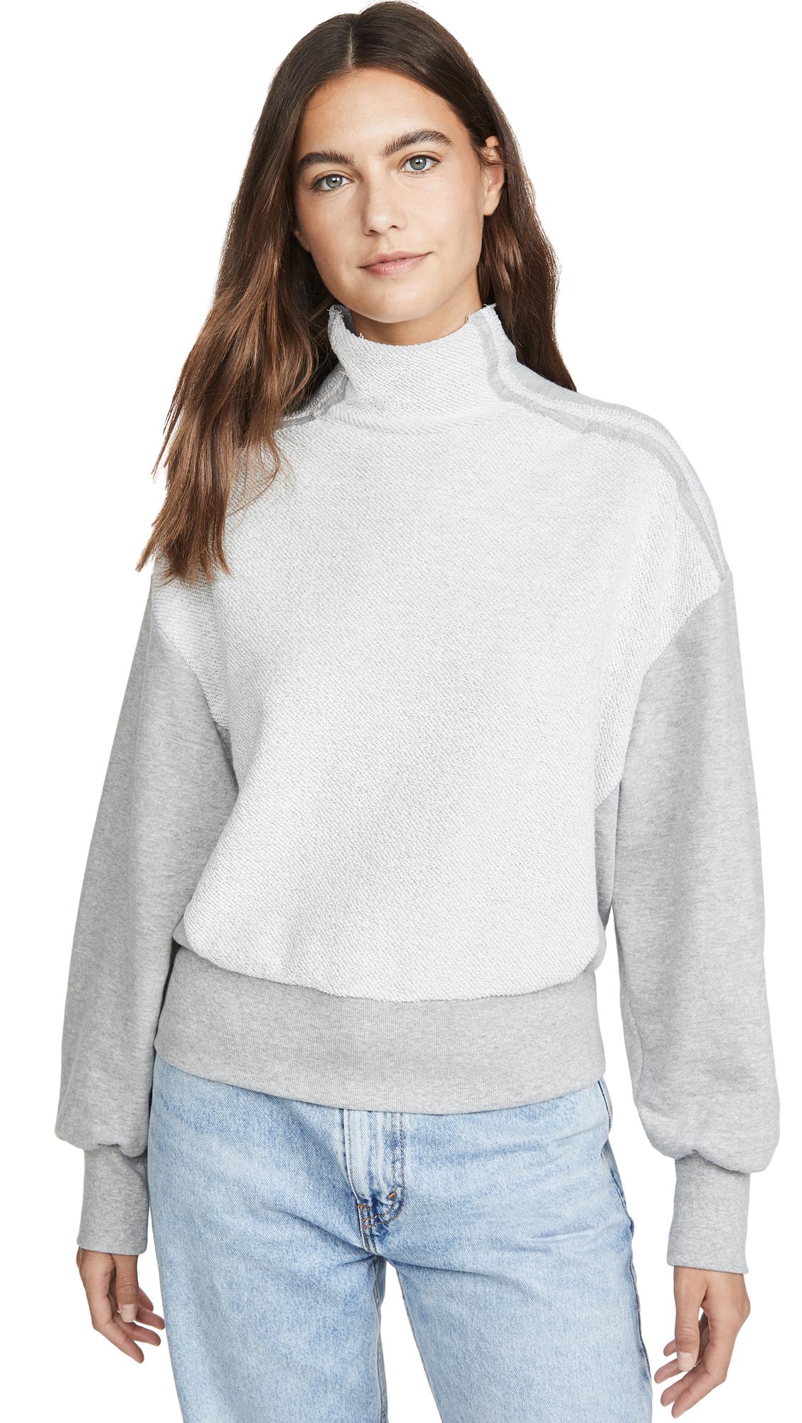 Buy TWENTY MONTREAL online - photo of TWENTY MONTREAL Sunny Side Mock Neck Pullover