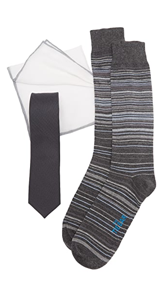 The Tie Bar Gray Astute Tie Set