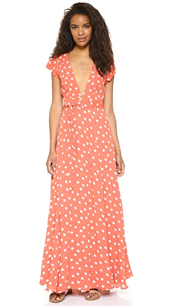 Tularosa Sid Wrap Dress - Roselle